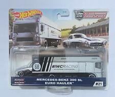 HOT WHEELS TEAM Transport Mercedes Benz 300 SL Euro Hauler