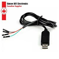 PL2303HX USB To RS232 TTL Converter Cable for Arduino and Raspberry Pi #221