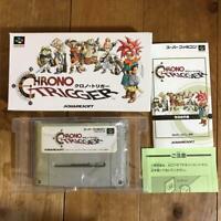 Nintendo Super Famicom Chrono Trigger SFC SNES Japan w/box video game Japan