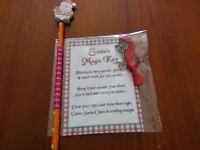 Santa key make it a magical christmas for the kids with a free christmas pencil
