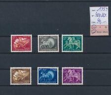 LL99316 Luxembourg 1954 caritas fine lot MNH cv 40 EUR