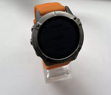 Garmin Fenix 6X Pro Solar Edition Titanium Running Watch -  Cycling Swimming