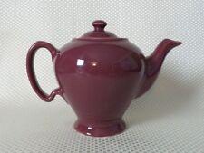 Great Vintage Mid-Century McCormick, Baltimore Ceramic Teapot - Burgundy Red