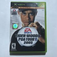 EA Sports Tiger Woods PGA Tour 2005 Microsoft Xbox, 2005 Complete Free Shipping