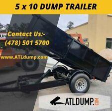 New 2022 5 X 10 5200 Gvwr Hydro Dump Trailer In Stock Today Pick Up Atl Ga