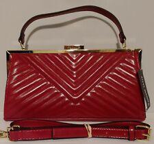 NEW!! Steve Madden Bframe Red Shoulder Bag/Clutch Handbag