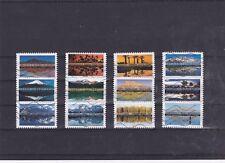 Lot série timbre france adhésif complète 2017 REFLET PAYSAGE DU MONDE