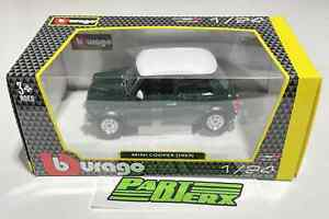 Mini Cooper 1969 1:24 Scale Model Childs Kids Toy Dads Fathers Gift Present