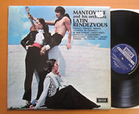 SKL 4528 Latin Rendezvous Mantovani & His Orchestra 1963 EXCELLENT Decca Stereo