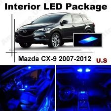 Blue LED Lights Interior Package Kit for Mazda CX-9 2007-2012 ( 9 Pieces )