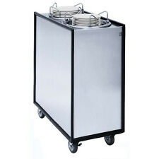 Apw Wyott Hml2-12A Mobile Adjustable Ii Heated Dish Dispenser