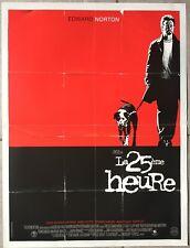 Affiche LA 25ème HEURE 25th Hour EDWARD NORTON Spike Lee 40x60cm *