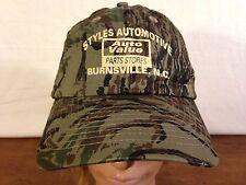 Men's Camouflage Styles Automotive Auto Value Parts Store Burnsville, NC Cap