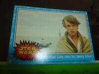 1977 20th Century Fox Star Wars Luke Skywalker Trading Card