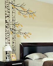 Beautiful Birches Wall Stencil - Reusable Large Tree Stencils for Easy DIY Decor