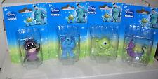 #7630 NRFC Disney Monsters Inc. Set of 4 Mini Collectible Figures