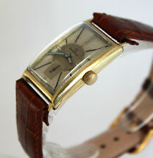 Rare OMEGA 14K GOLD Elegant ART DECO TONNEAU BANANA Wristwatch ca.1930