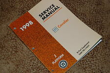 1998 Chevy Cavalier Service Manual Bi-Fuel Supplement NEW Mint OEM