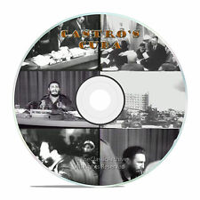 Castro's Cuba Documentary, Cuban Embargo History Newsreels Newsclips on DVD -J58