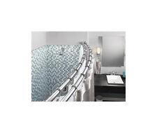 DN 2141CH Double Curved Shower Curtain Rod 5 foot  - Chrome