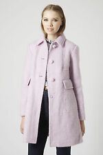 New Topshop Womens ladies Lilac  jacket coat size 6 RRP £89