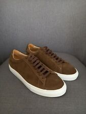 Zespa Mens Brown Suede Snekers Size 7.5 (RRP£255)