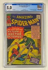 AMAZING SPIDER-MAN #11 Marvel Comics 1964 CGC 5.0 Doctor Octopus 2nd Appearance