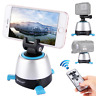 Remote Control Pan Tilt Auto Motorized Rotating Cell Cam Tripod Head Stabilizer