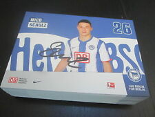 48827 Nico Schulz Hertha BSC 2011-2012 original signierte Autogrammkarte