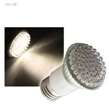 5 x LED-Lampadina/emettitore e27 bianco caldo con 60 LED Pera e 27 Lampada Spot