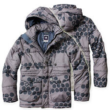 G-STAR RAW HOODED QUILTED DOT CAMO WINTER JACKET NYLON PARKA  SIZE L/ LARGE