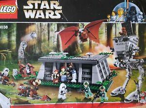 LEGO Star Wars The Battle of Endor (8038)- Please read description.