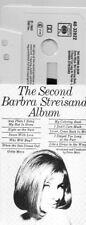 cassette tape the BARBARA STREISAND  the second album