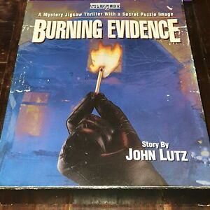 Burning Evidence: A Mystery Jigsaw Thriller 1993 - Complete in Box