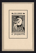 19)Nr.099- EXLIBRIS- Armand Rels, Erotik / erotic