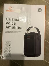 Voice Amplifier/ PA System- Portable Rechargeable With Bluetooth Headset