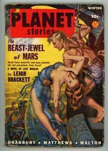 Planet Stories 1948 Ray Bradbury; GGA Anderson Cover
