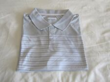 Columbia Bow Glacier Short Sleeve Stripes Men's Polo Shirt Grey XXL  $40 NWT