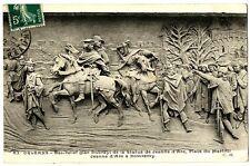 CPA 45 Loiret Orléans Bas relief place du Martroi Jeanne d'Arc à Domrémy