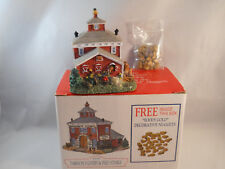 Americana Collection Liberty Falls Livery & Feed Stable & Rocks Ah156-1998 W/Box