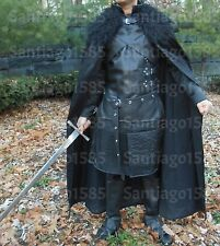 Jon Snow Costume Nights watch 2 Game of Thrones Game Adult