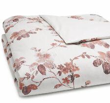 Sferra Barletta F/Queen Duvet Cover in Brick Floral Cotton Percale New
