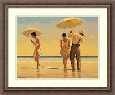 """Mad Dogs"", by Jack Vettriano, Framed Art 25x21"