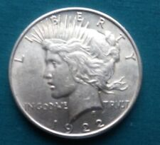 1922 $1 Liberty Peace Silver Dollar #755