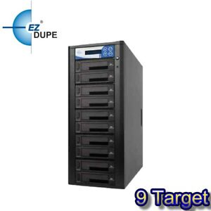 EZ Dupe Pantera 1 to 9 Hard Drive Duplicator & sanitizer / SSD Cloner 150MBps