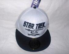 Star Trek Hip Hop Cap USS Enterprise,weiß ---Neu,Lizenz,RARITÄT
