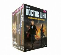 Free Shipping Doctor Who Season 1-10 DVD(55-disc set,New Sealed)