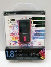 "Brand New RipTunes 1.8"" LCD MP3 & Video Player 8GB Memory Pink Factory Sealed!"