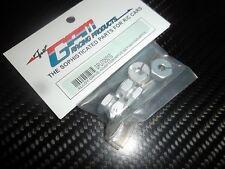 GPM SPU705010 hexagones de roues alu + axes  SERPENT 705