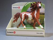 Schleich Pinto Stallion horse 13794 New ol